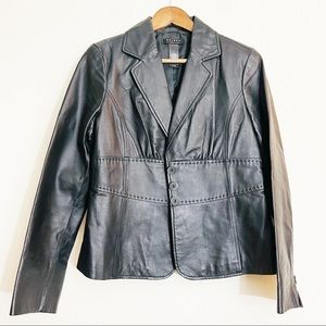 Axcess Leather Jacket Size 12